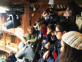Shakespeare's Globe educational visit, UK