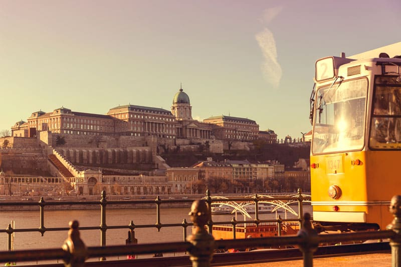 The Castle District in Buda